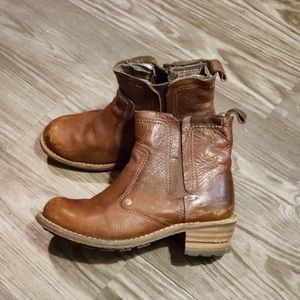 Caterpillar Leather Chelsea Boots